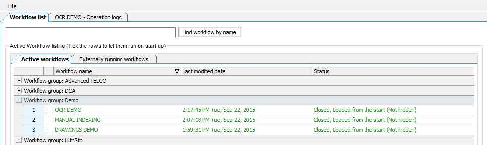 document-capture-workflows autoINDEX > autoFILER  Organize and manage