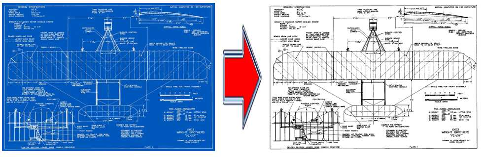 drawings blueprint